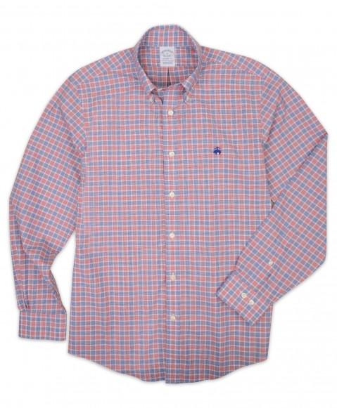 Non Iron Stretch Broadcloth Sport Shirt
