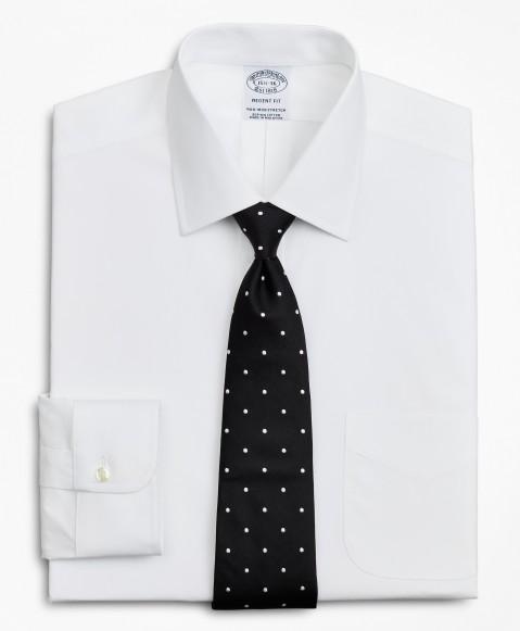Stretch Regent Regular-Fit  Dress Shirt, Non-Iron Poplin Ainsley Collar