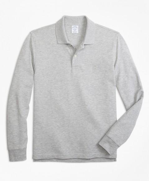 Slim Supima LS Performance Polo Shirt